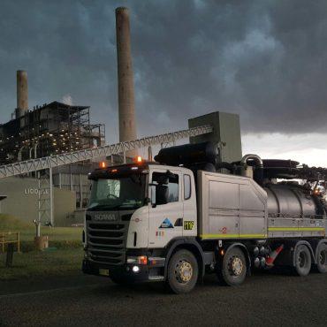 Vac Truck Scania